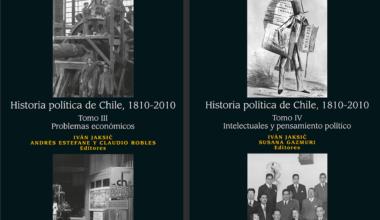 «Historia Política de Chile 1810-2010» dentro de los mejores libros 2018